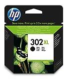 HP 302XL Cartuccia Originale Getto d'Inchiostro ad Alta Capacità, Nero