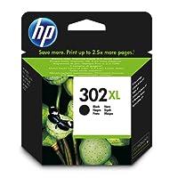 HP 302XL High Yield Black Original Ink Cartridge (F6U68AE)