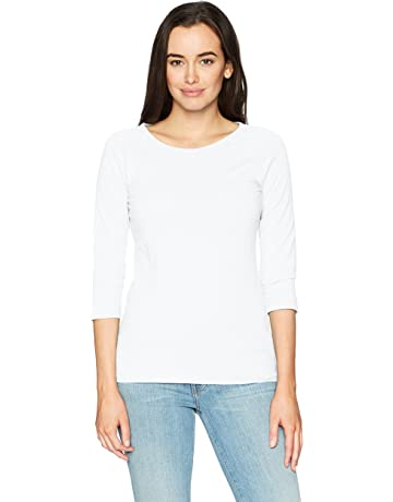 b6c3699271cca7 Hanes Women s Stretch Cotton Raglan Sleeve Tee