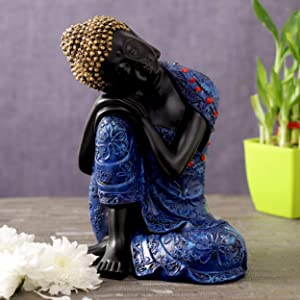 TIED RIBBONS Buddha Idol for Home Décor- Buddha Showpiece for Home Decoration
