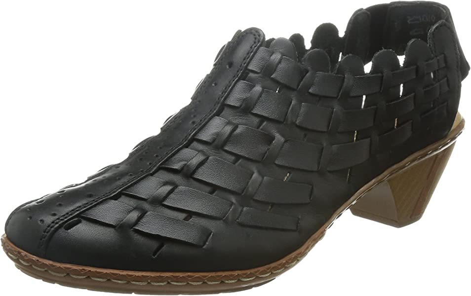 Women's Sina 78 Black Leather Casual 8 B(M) US