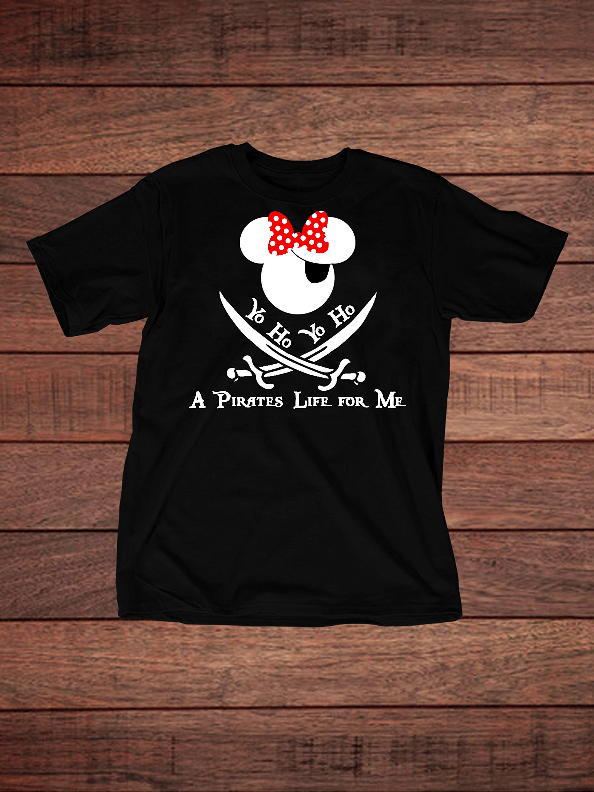 Minnie Mouse - Disney Pirates of the Caribbean Inspired Adult T-Shirt by The Disney Nation