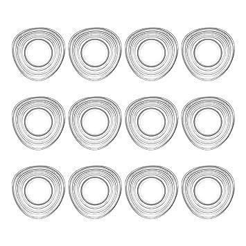 LAV Derin cristal del té/taza de café de platillos - 130 ml - Envase de 12: Amazon.es: Hogar