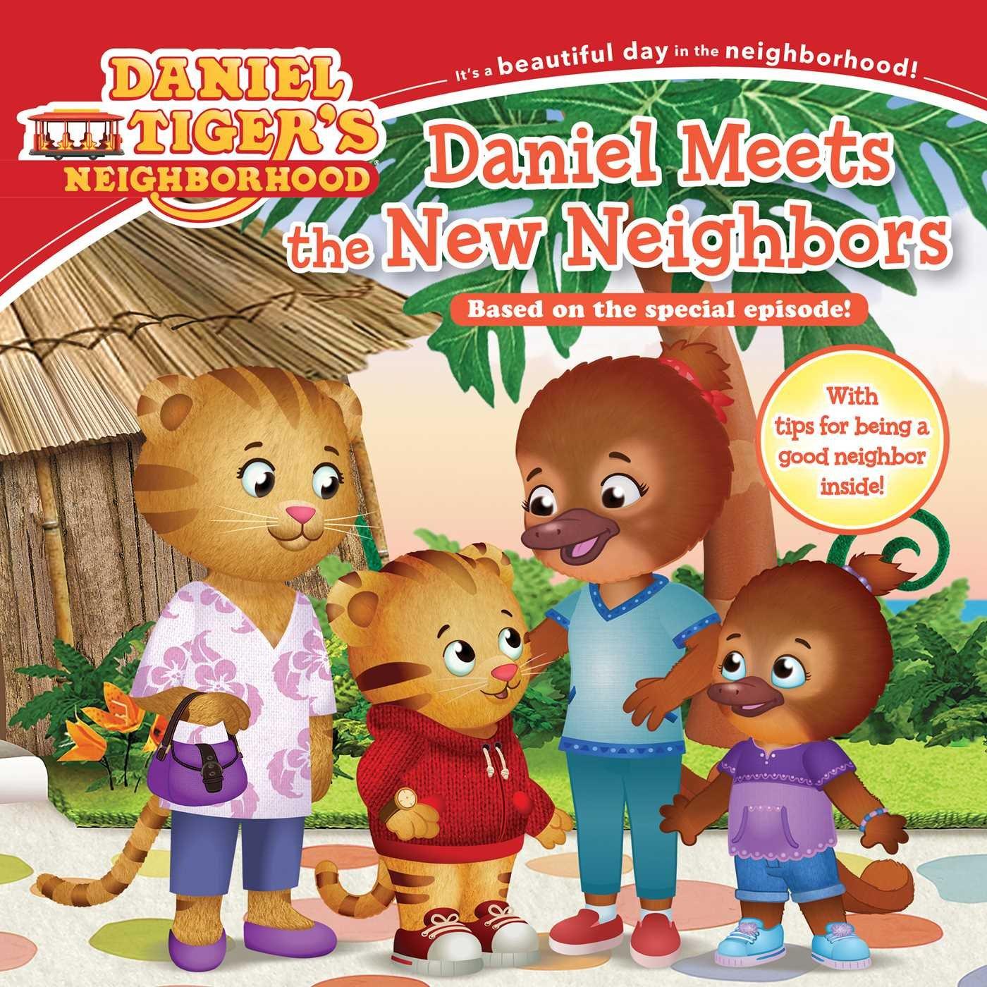 Daniel Meets The New Neighbors Becky Friedman Jason Fruchter