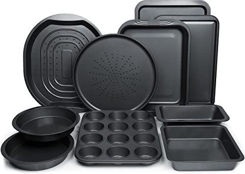 ChefLand 10-Piece Non-Stick Bakeware Set