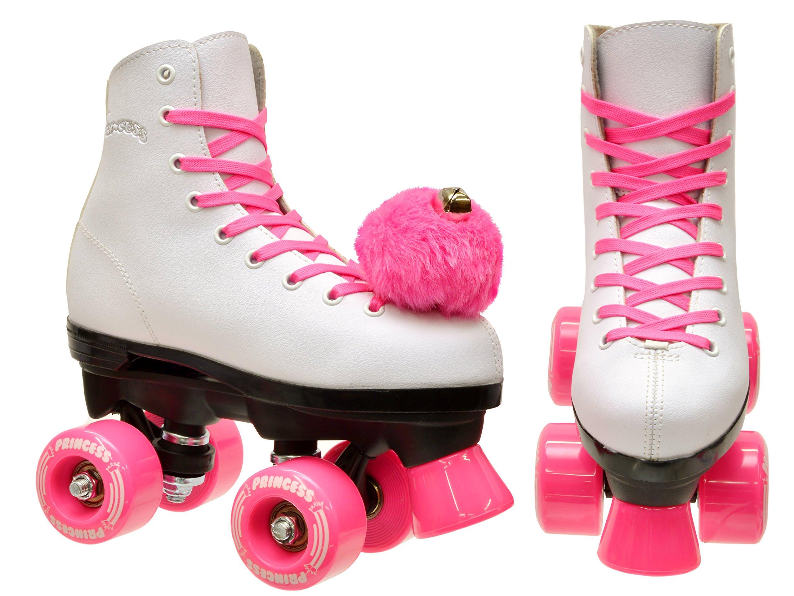 Epic Skates Epic Pink Princess Quad Roller Skates Kids 5 by Epic Skates (Image #4)