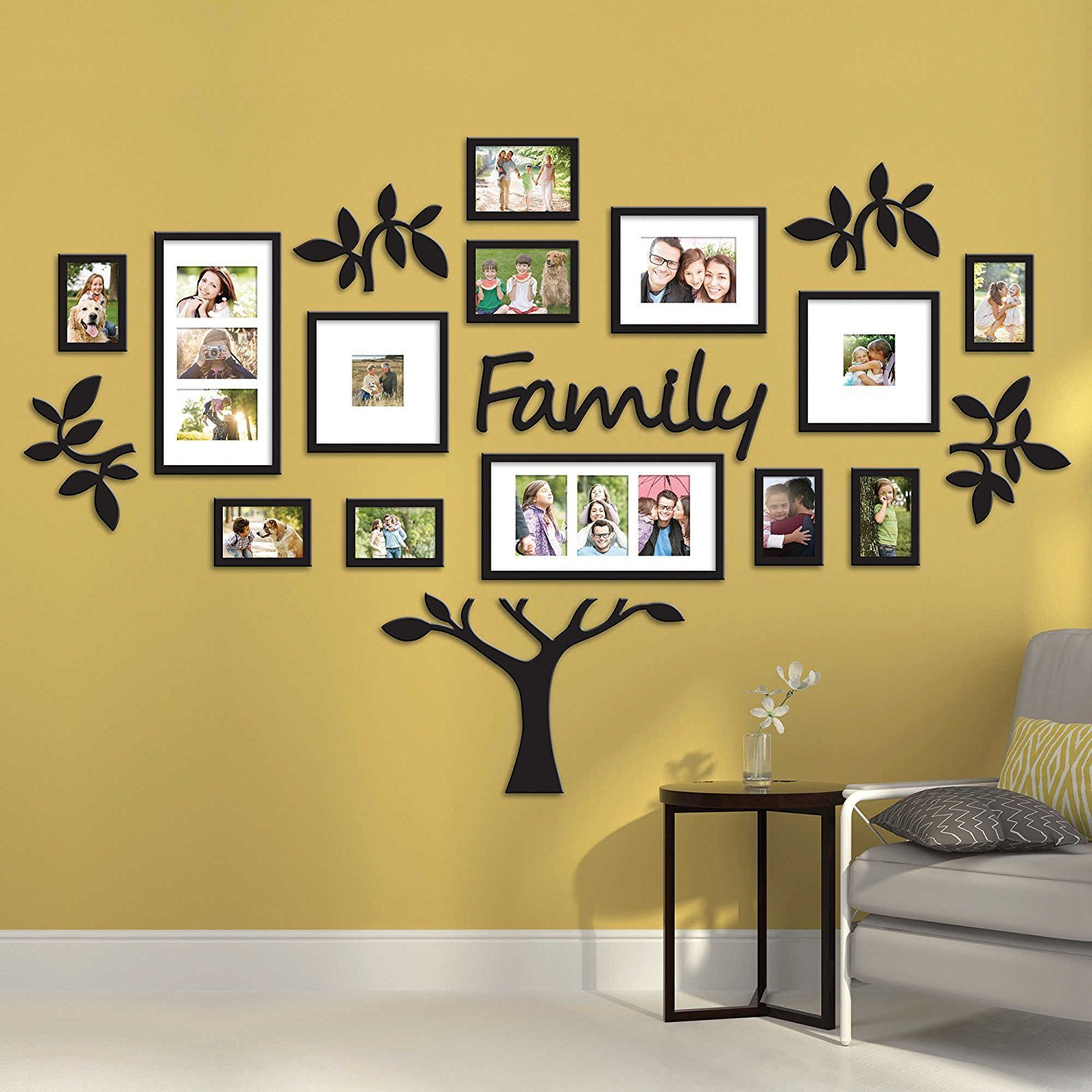 Buy Paper Plane Design 19 Piece Picture Frames Eye Catching Collage Family