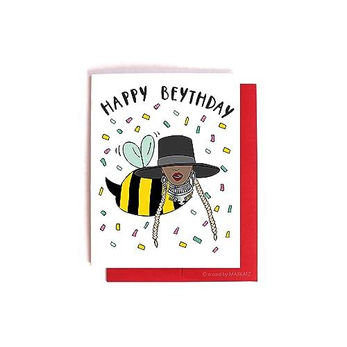 Amazon happy beythday beyonce birthday card handmade quothappy beythdayquot beyonce birthday card bookmarktalkfo Image collections