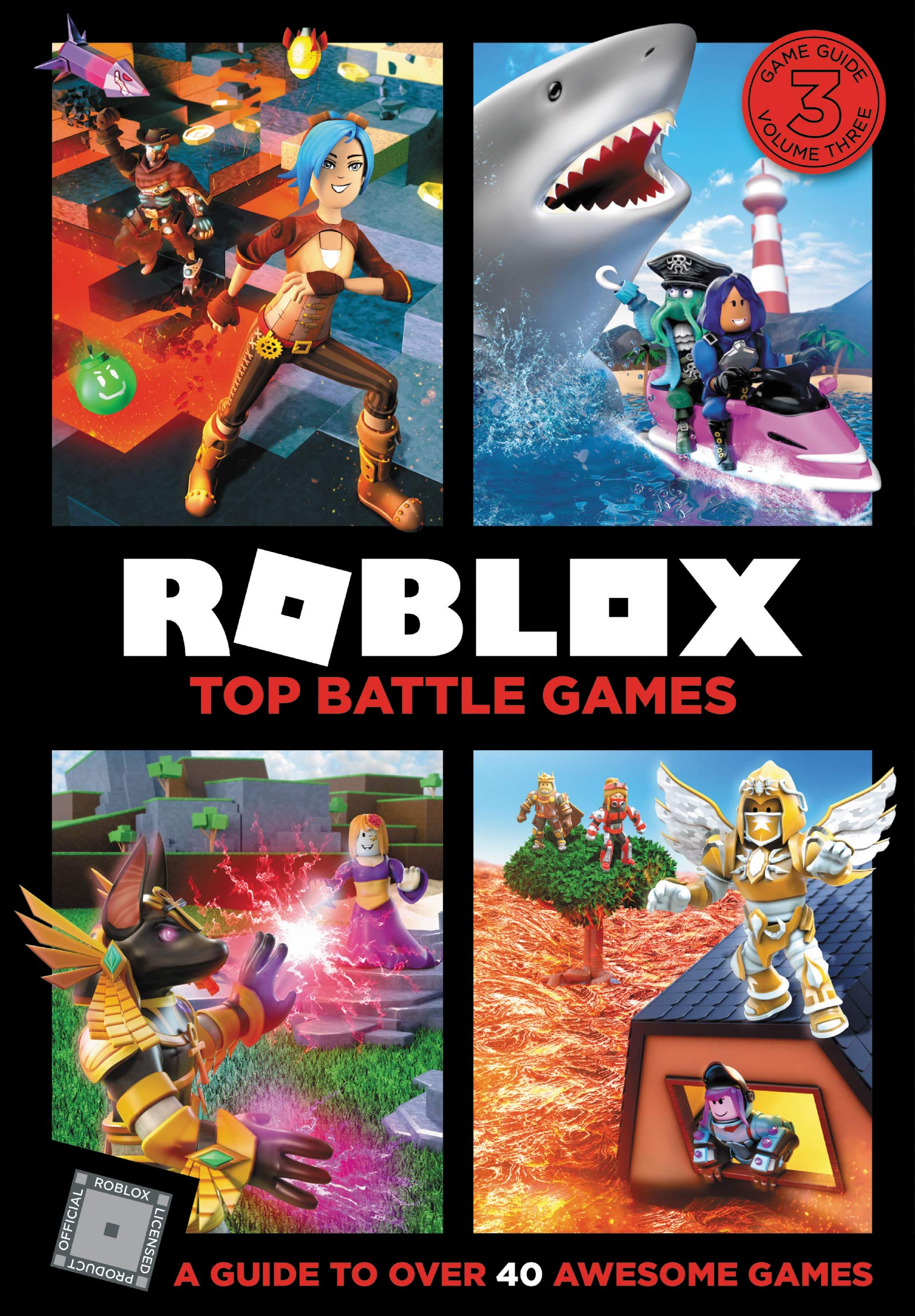 Roblox Top Battle Games Official Roblox 9780062950161 Amazon