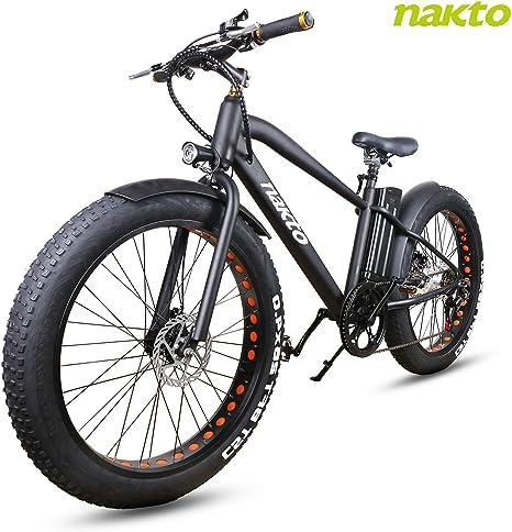 Bicicleta eléctrica Shimano GG Cruiser de 26 Pulgadas, 6 ...