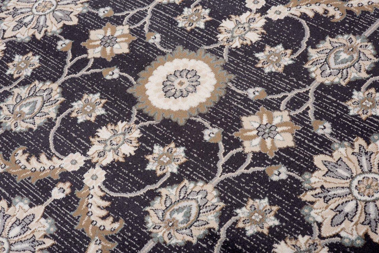 TAPISO Dubai Tappeto Salotto Orientale Soggiorno Classico Bianco Tradizionale Floreale A Pelo Corto 60 x 100 cm