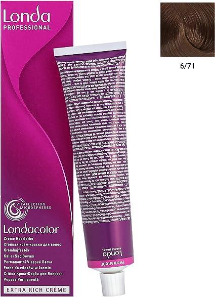 Tinte en crema permanente 6/71 60 ml