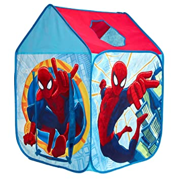 Marvel Spider-Man Wendy House Playhouse - Pop Up Role Play Tent  sc 1 st  Amazon UK & Marvel Spider-Man Wendy House Playhouse - Pop Up Role Play Tent ...