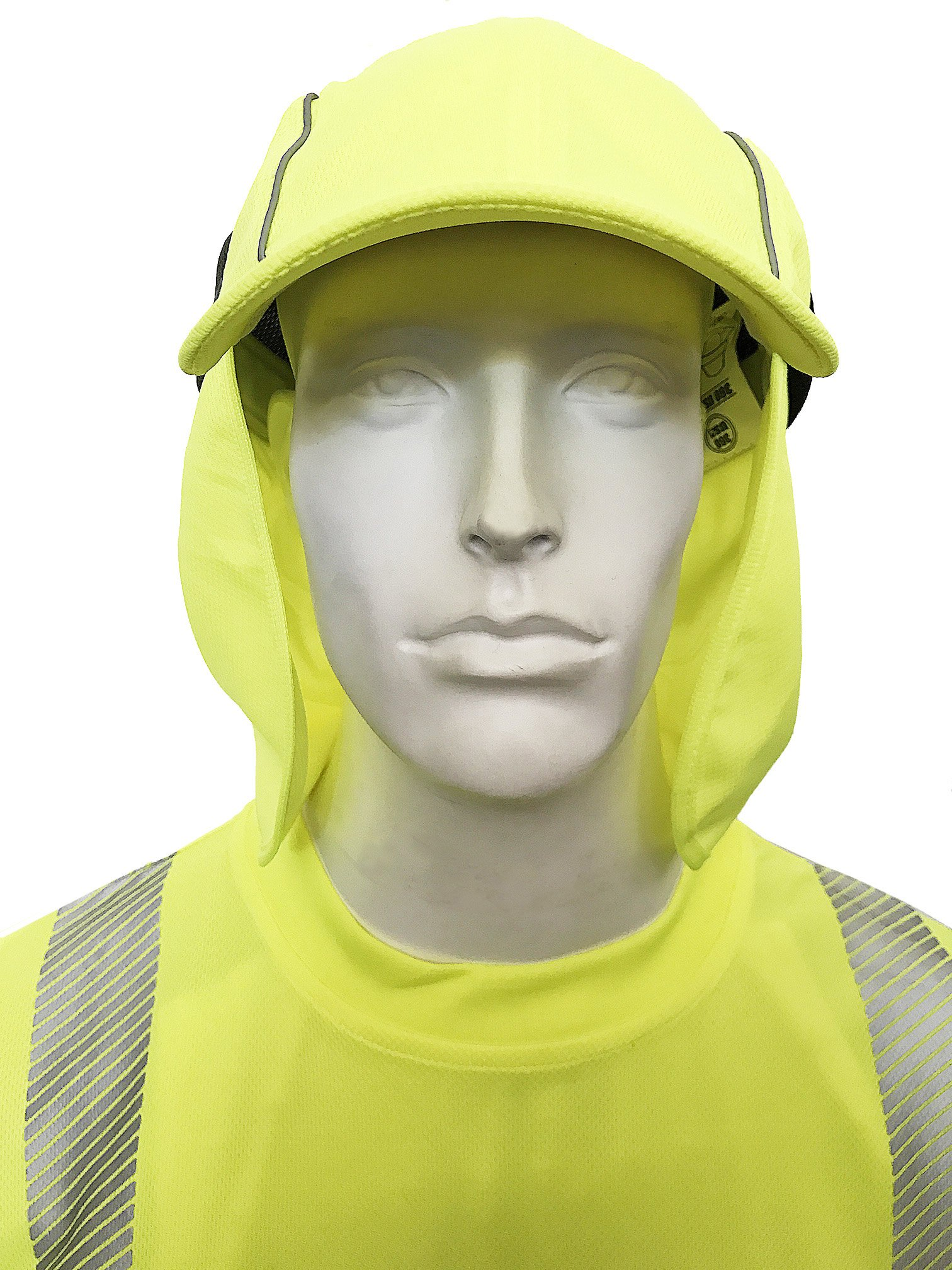 360 USA High-Visibility Reflective Sports Cap with Sun Shield by 360 USA