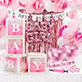 Girl Baby Shower Decoration Bundle Pink Baby Shower Decorations for Girl - JUMBO SET all Inclusive Baby Boxes