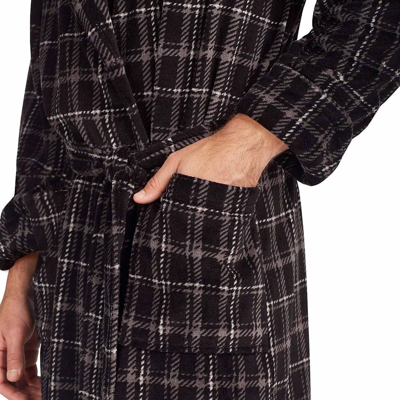 Tommy Bahama Mens Soft Plush Robe