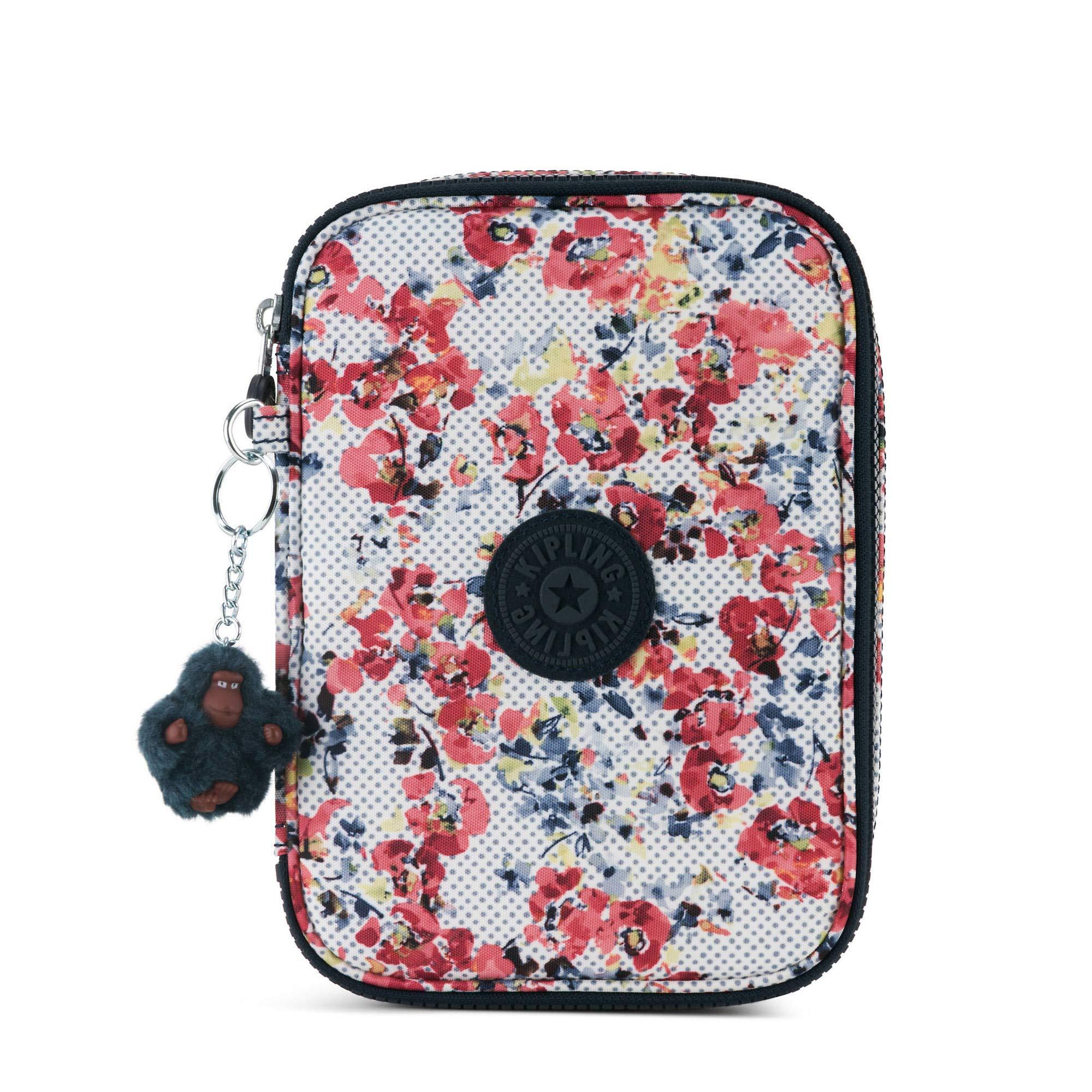 Kipling 100 Pens Pencil Case (Busy Blossoms)