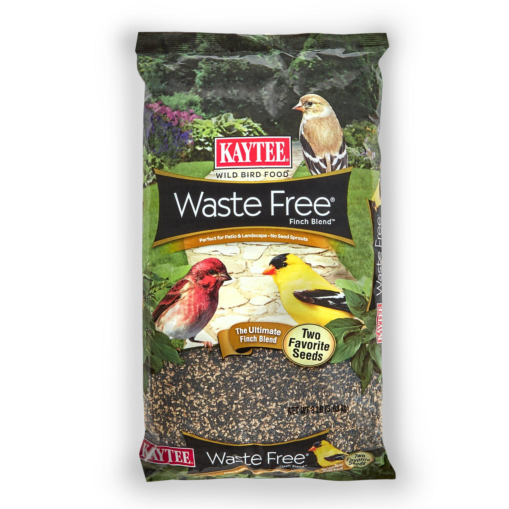 Kaytee Waste Free Finch Bird Seed Blend, 8-Pound by Kaytee