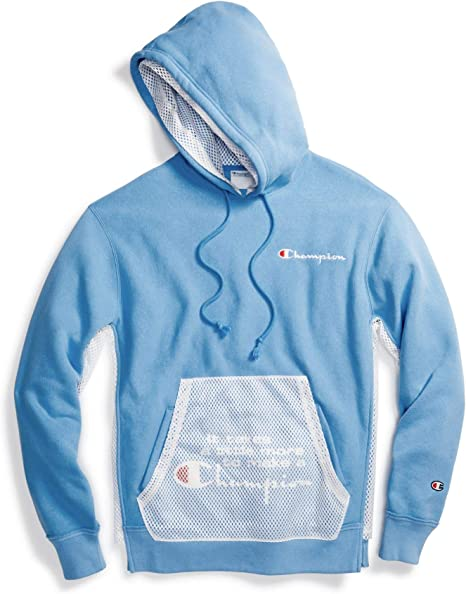 champion life men's reverse weave pullover hoodie