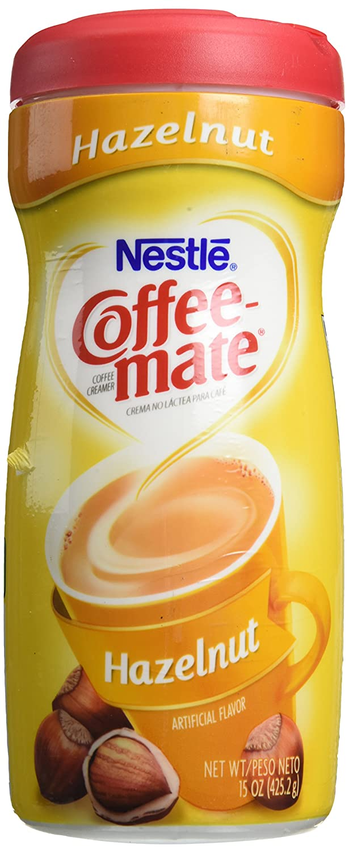 Coffee-Mate Hazelnut Creamer Powder, 15-oz Plastic Bottle: Amazon.es: Hogar