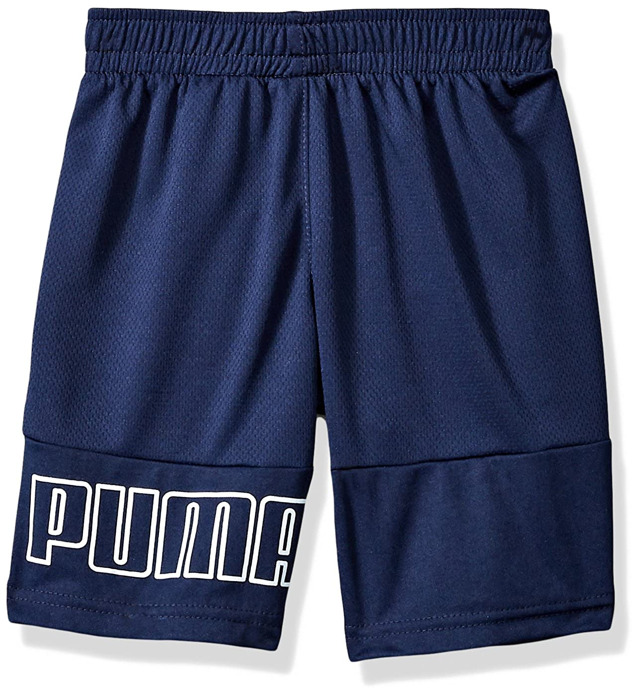 91183288-P496 PUMA Boys Maddox Shorts Peacoat X-Large 18//20