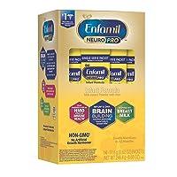 Enfamil NeuroPro Baby Formula Milk Powder, 14 Single Serve Packets (17.6 Gram Each...
