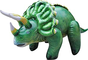 Triceratops Dinosaur Inflatable 43 inch for pool party decoration birthday gift kids and adults DI-TRI4 by Jet Creations