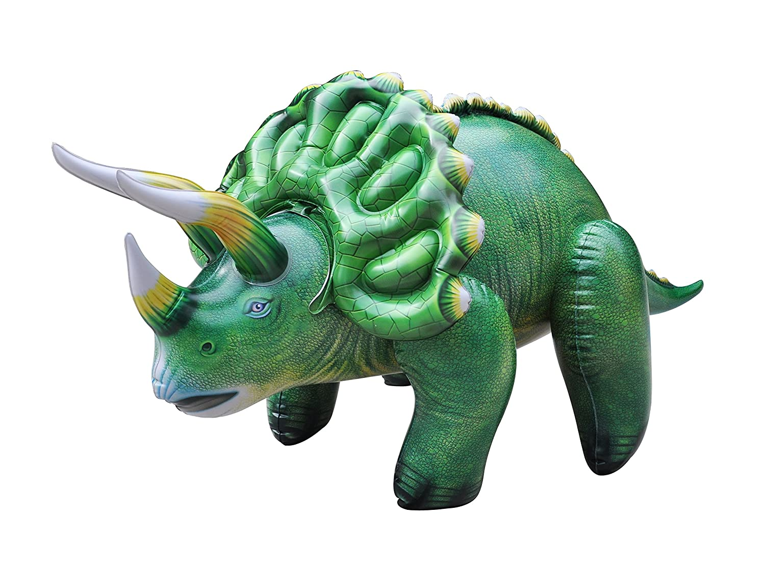 Jet Creations Great for ... Inflatable Triceratops Perfect for Decorations