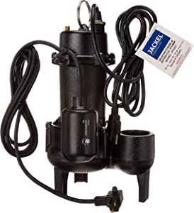 JACKEL 1/2 HP Submersible Sewage Pump (Model: JP550T)