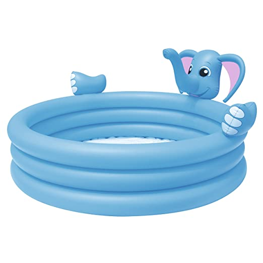 Piscina Hinchable Infantil Bestway Elephant Play 153x153x74 cm
