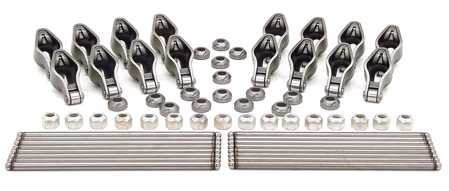 COMP Cams RP1417-16 High Energy Magnum Rocker Arm and Pushrod Kit for Late Model Small Block Chevrolet