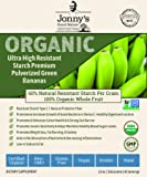 Superfood Prebiotic Resistant Starch | Organic Ultra High Resistant Starch Premium Pulverized Green Bananas | 200% to 1200% More Prebiotic Fiber Than Any Other Green Banana Flour On The Market