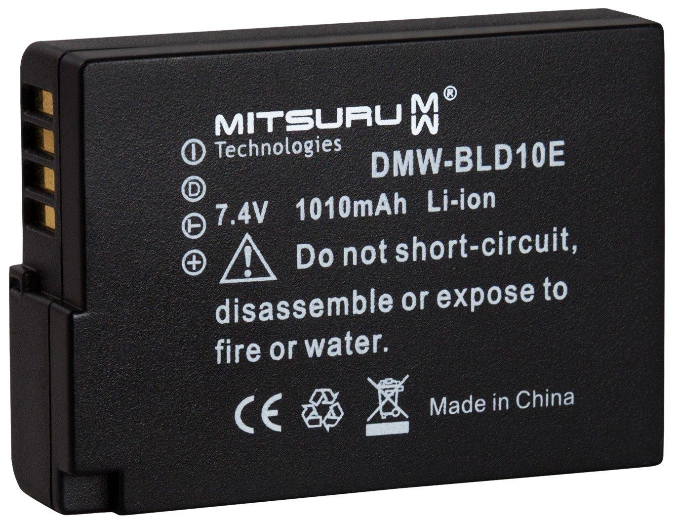 Mitsuru® Replacement Battery for Panasonic BLD10E