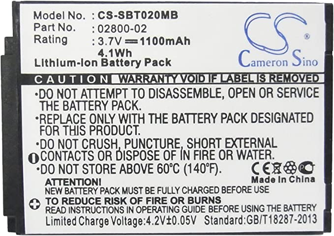 Battery Summer Baby Touch 02000 Baby Touch 02004 Sli Slim /& Secure 02800 Li-ion 1100 mAh
