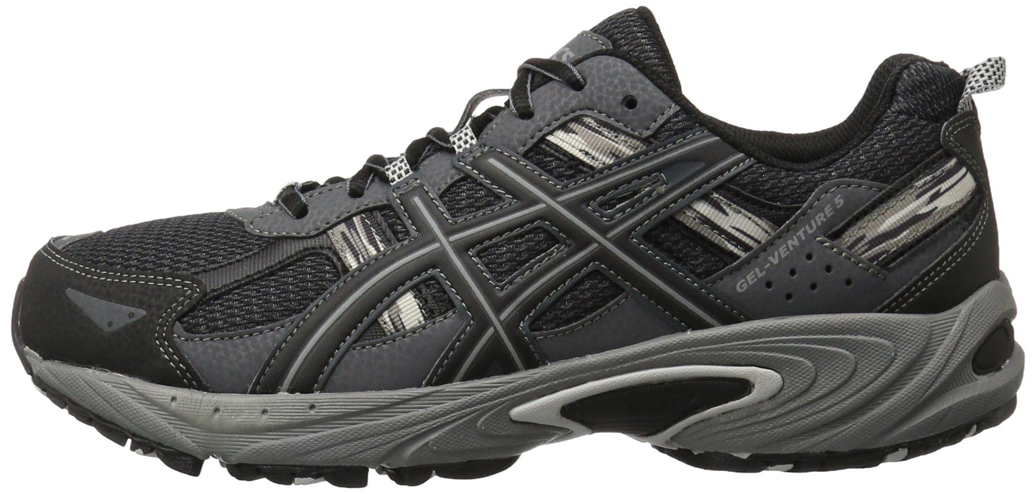 ASICS Men's Gel-Venture 5-M, Black/Onyx/Charcoal, 8 M US by ASICS (Image #5)