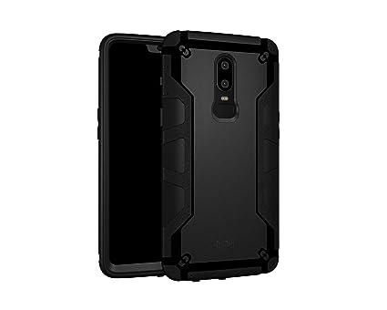 watch 40a6d 23325 Tudia Omnix Case / Cover Designed for OnePlus 6 / OP6 - Matte Black  [TD-TPU4161]