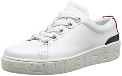 dcec1c33cef Amazon.com | Tommy Hilfiger Women's Tommy Fashion Low-Top Sneakers ...