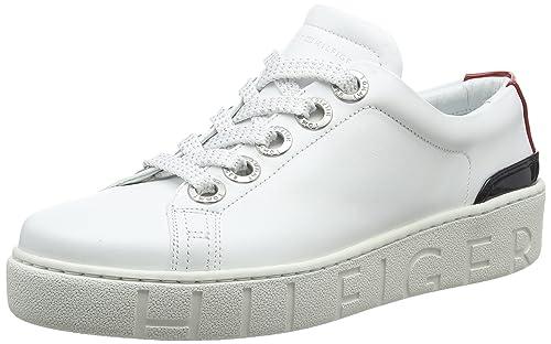 Tommy Hilfiger Fashion Sneaker, Zapatillas para Mujer: Amazon.es: Zapatos y complementos