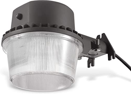 LEDPAX Technology DDBL-35W LED Area Barn Dusk to Dawn Ultra Bright Yard Light 4200 Lumens, 5000k, 1 Pack, Black