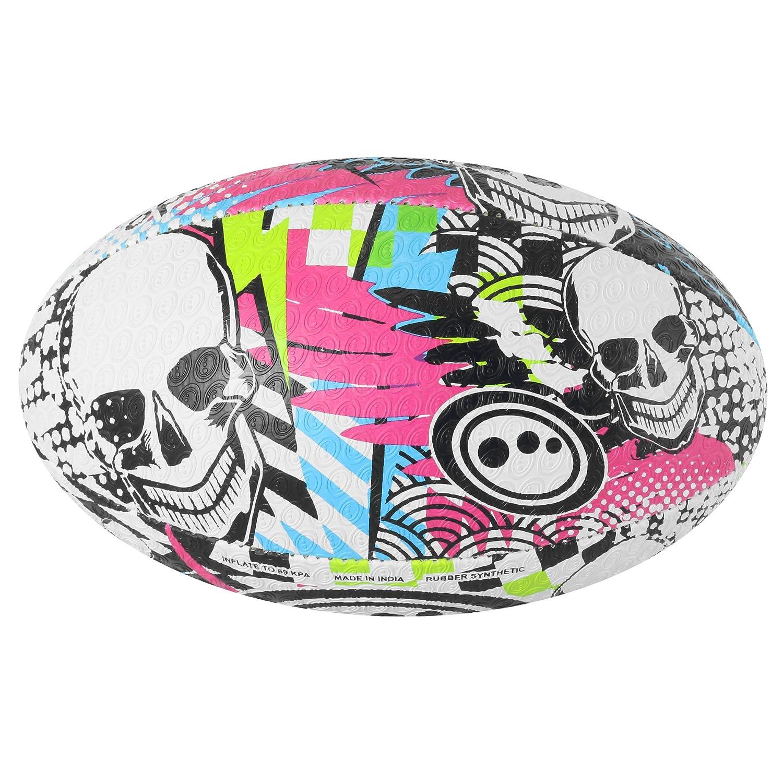 OPTIMUM Skull Ballon de Rugby Homme