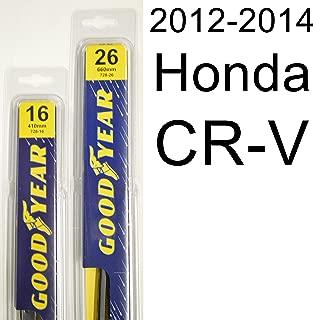 """product image for Honda CR-V (2012-2014) Wiper Blade Kit - Set Includes 26"""" (Driver Side), 16"""" (Passenger Side) (2 Blades Total)"""