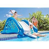 Pool slide water hook up
