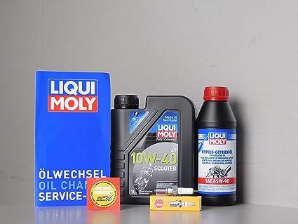MotorFunSports Keeway Silver Blade 125 - Juego de mantenimiento de bujías de aceite: Amazon.es: Coche y moto