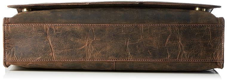 Bruno Banani Unisex-Erwachsene Kollektion_ASPEN Schultertaschen, Braun  (Braun), 36x28x8 cm: Amazon.de: Schuhe & Handtaschen