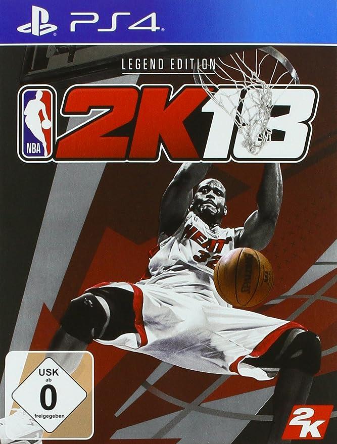 NBA 2K18 - Legend Edition - PlayStation 4 [Importación alemana ...