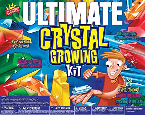 Amazon.com: Scientific Explorer Ultimate Crystal Growing Kit ...