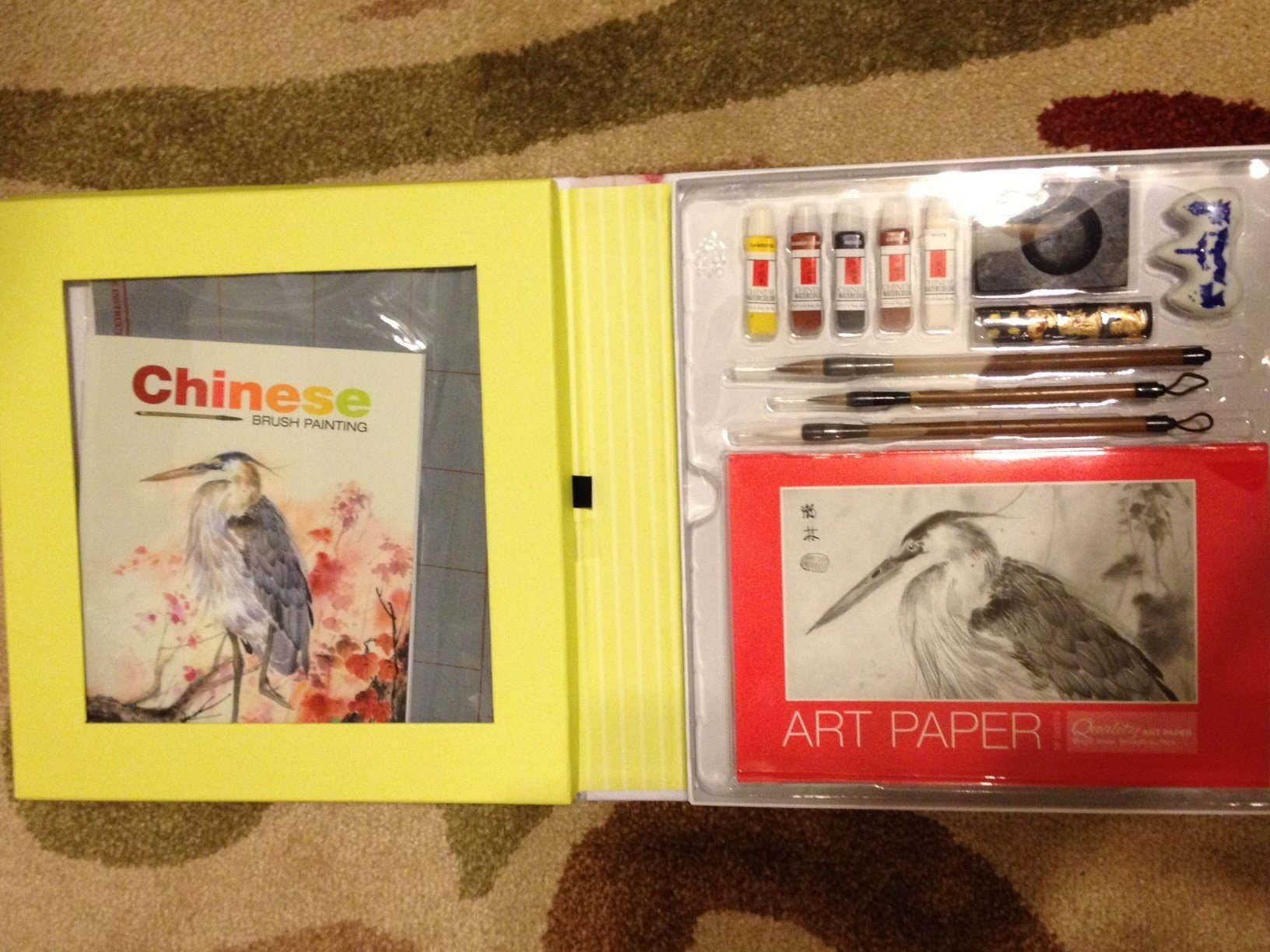 Chinese Brush Painting A Complete Kit For Art Enthusiasts
