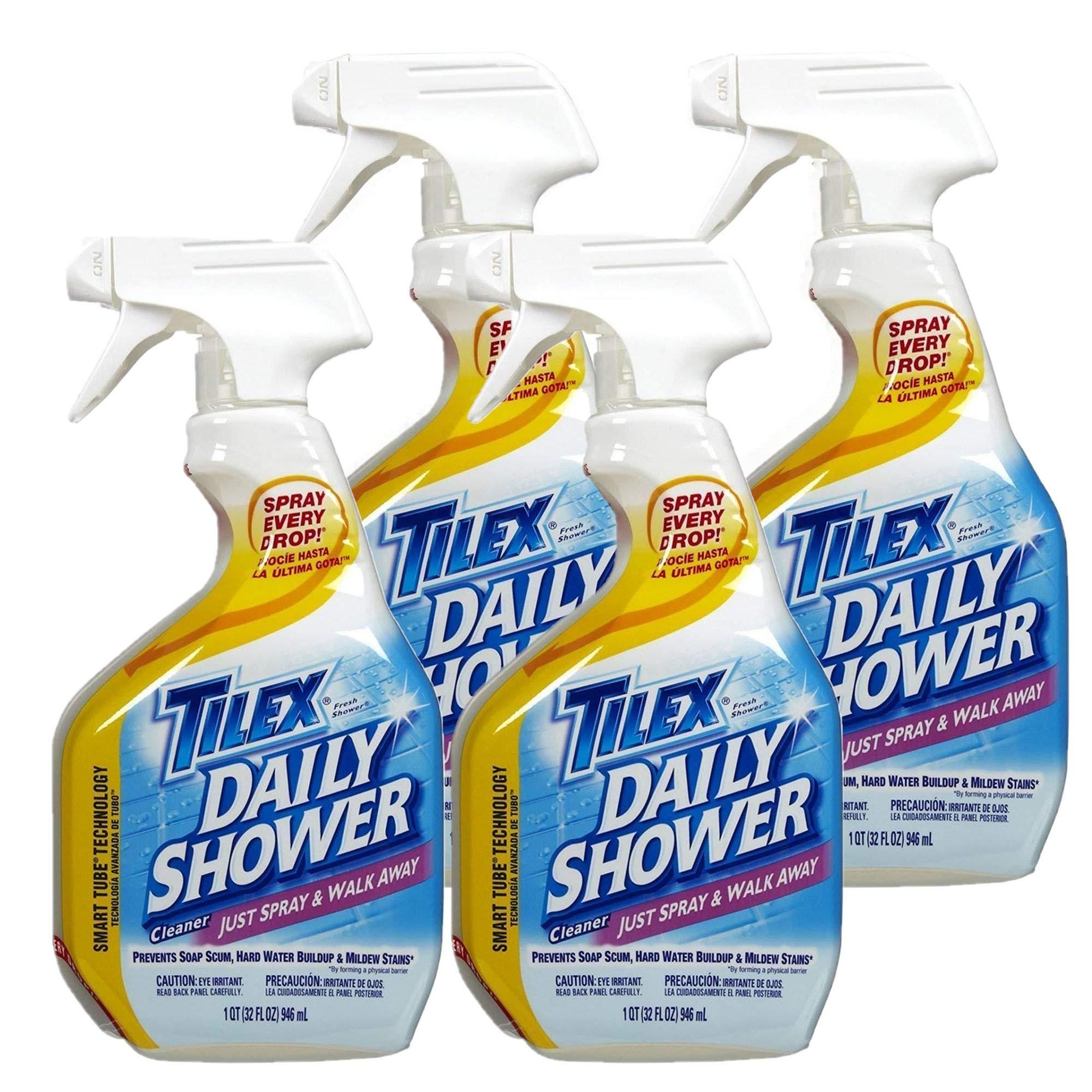 Tilex Shower Spray - 32 oz - 4 pk