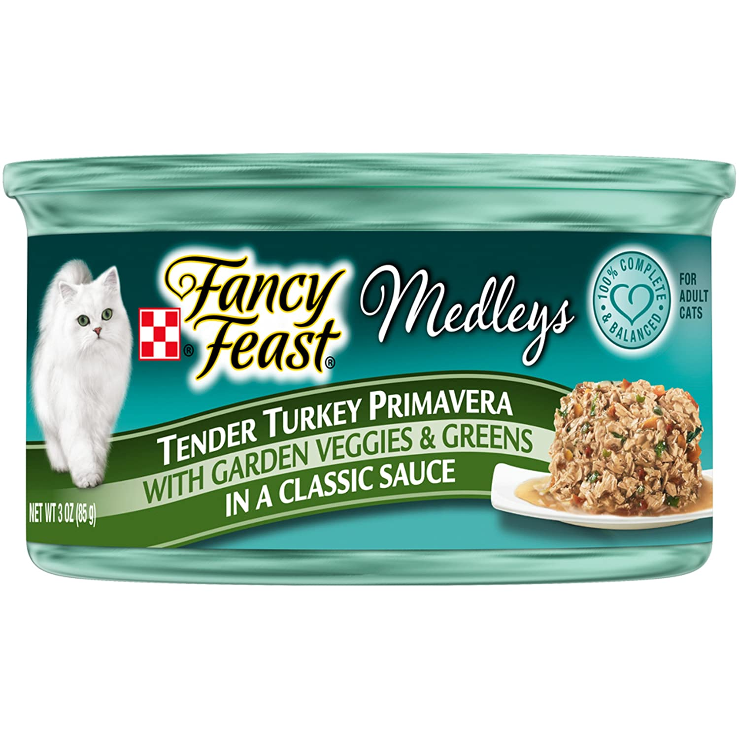 Purina Fancy Feast Medleys Primavera Collection Gourmet Wet Cat Food - (24) 3 oz. Cans