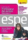 Concours professeur des écoles - Situation professionnelle & connaissance du système éducatif - Oral